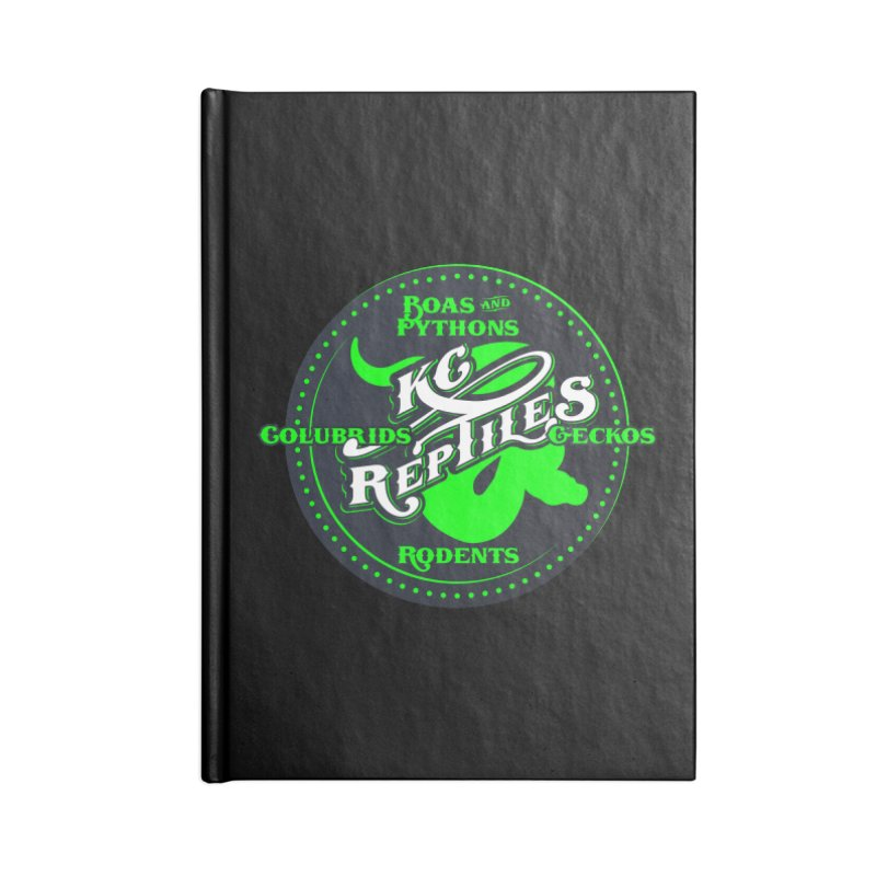 KC Reptiles Accessories Notebook by Drawn to Scales