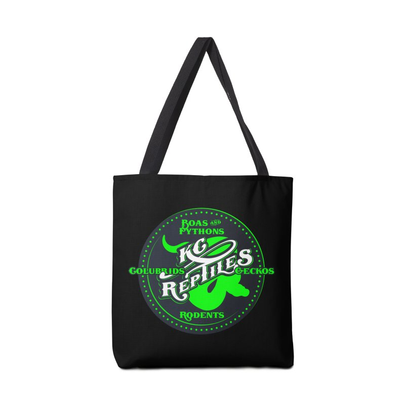 KC Reptiles Accessories Tote Bag Bag by Drawn to Scales