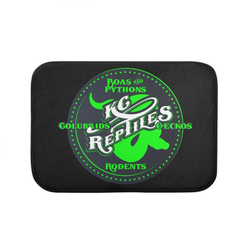KC Reptiles Home Bath Mat by Drawn to Scales