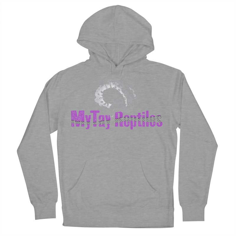 MyTy Reptiles Women's French Terry Pullover Hoody by Drawn to Scales