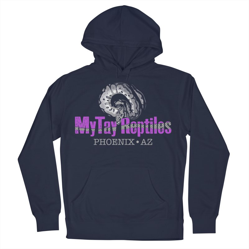 MyTy Reptiles Men's French Terry Pullover Hoody by Drawn to Scales