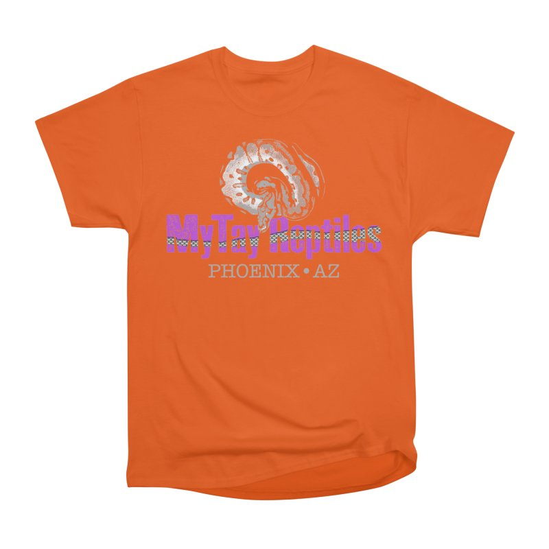 MyTy Reptiles Men's Heavyweight T-Shirt by Drawn to Scales
