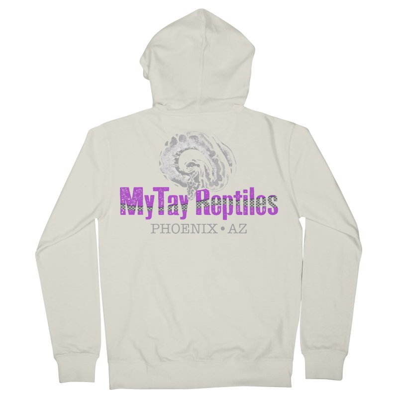 MyTy Reptiles Women's French Terry Zip-Up Hoody by Drawn to Scales