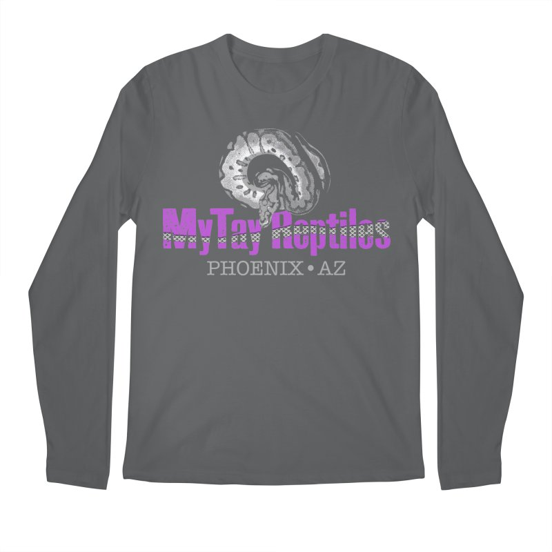 MyTy Reptiles Men's Regular Longsleeve T-Shirt by Drawn to Scales