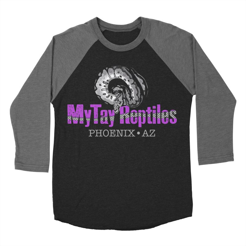 MyTy Reptiles Women's Baseball Triblend Longsleeve T-Shirt by Drawn to Scales