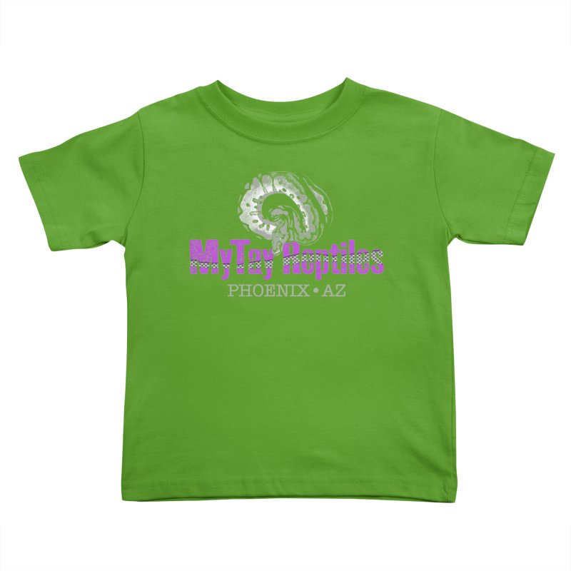MyTy Reptiles Kids Toddler T-Shirt by Drawn to Scales