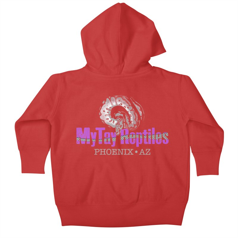 MyTy Reptiles Kids Baby Zip-Up Hoody by Drawn to Scales