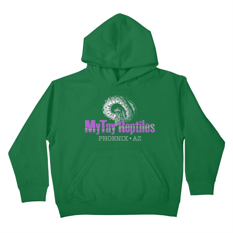 MyTy Reptiles Kids Pullover Hoody by Drawn to Scales