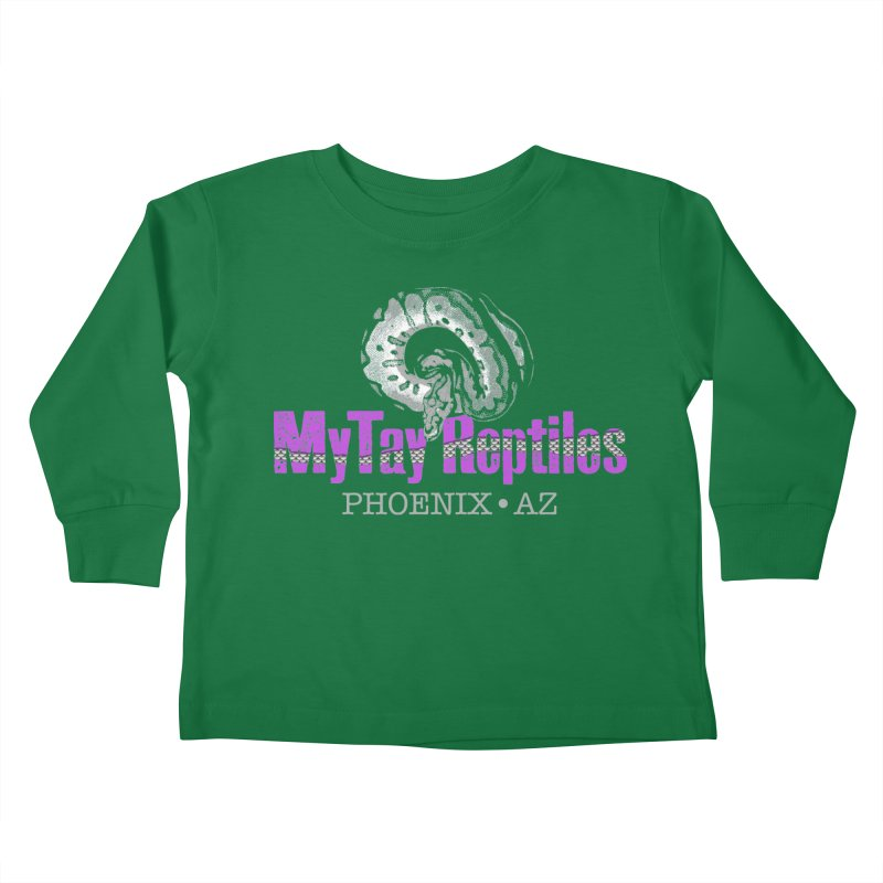 MyTy Reptiles Kids Toddler Longsleeve T-Shirt by Drawn to Scales