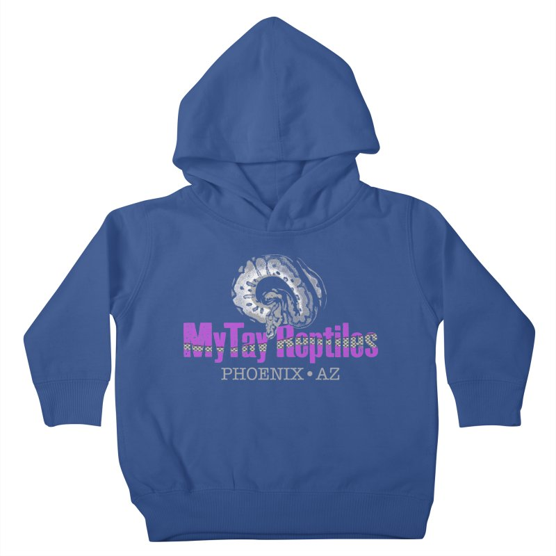 MyTy Reptiles Kids Toddler Pullover Hoody by Drawn to Scales