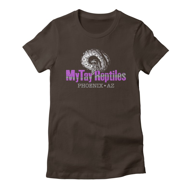 MyTy Reptiles Women's Fitted T-Shirt by Drawn to Scales