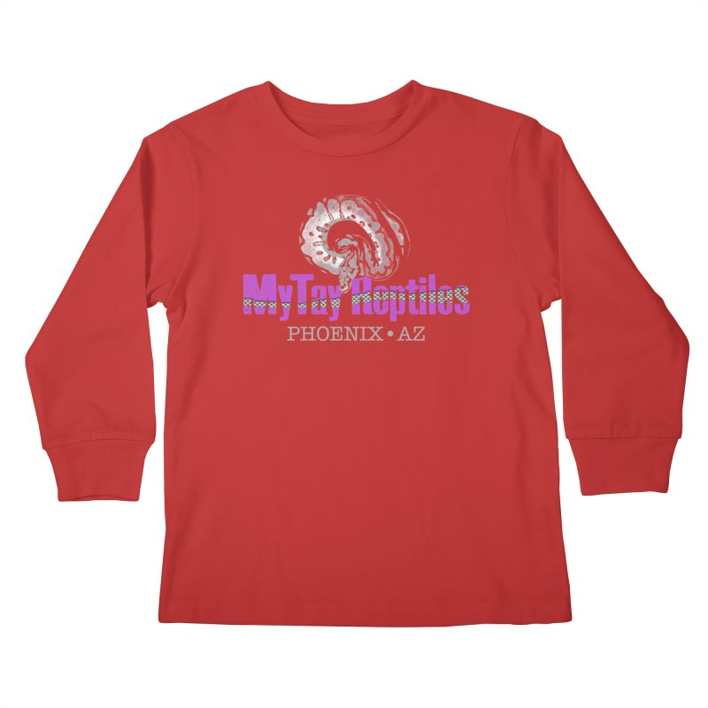 MyTy Reptiles Kids Longsleeve T-Shirt by Drawn to Scales