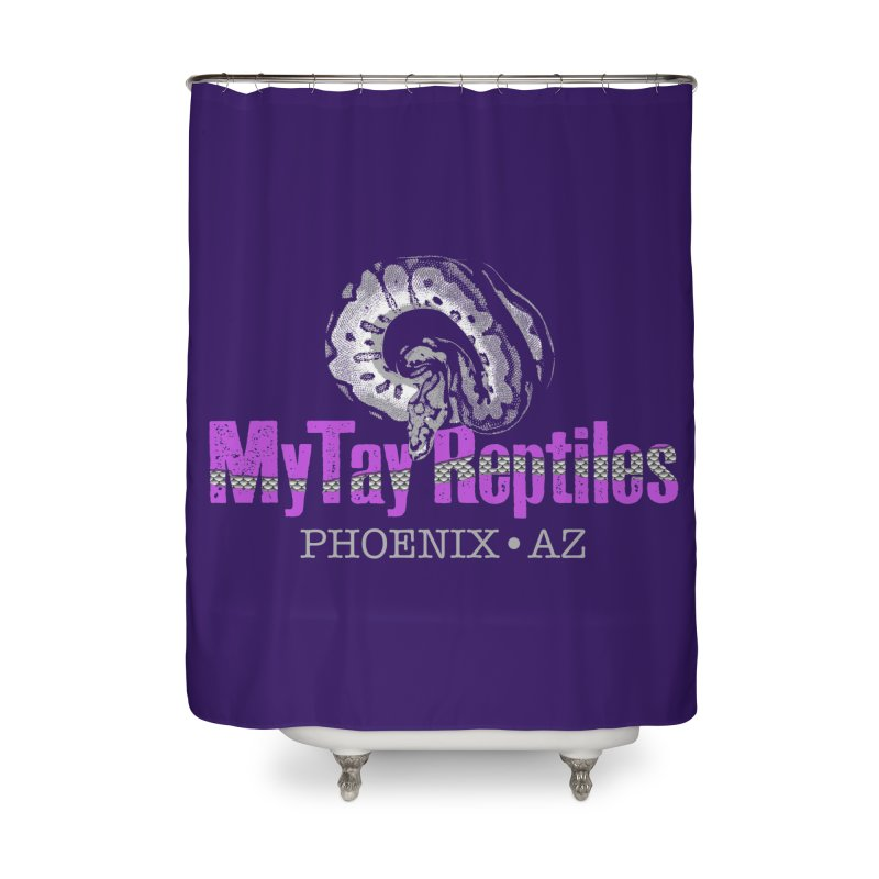 MyTy Reptiles Home Shower Curtain by Drawn to Scales