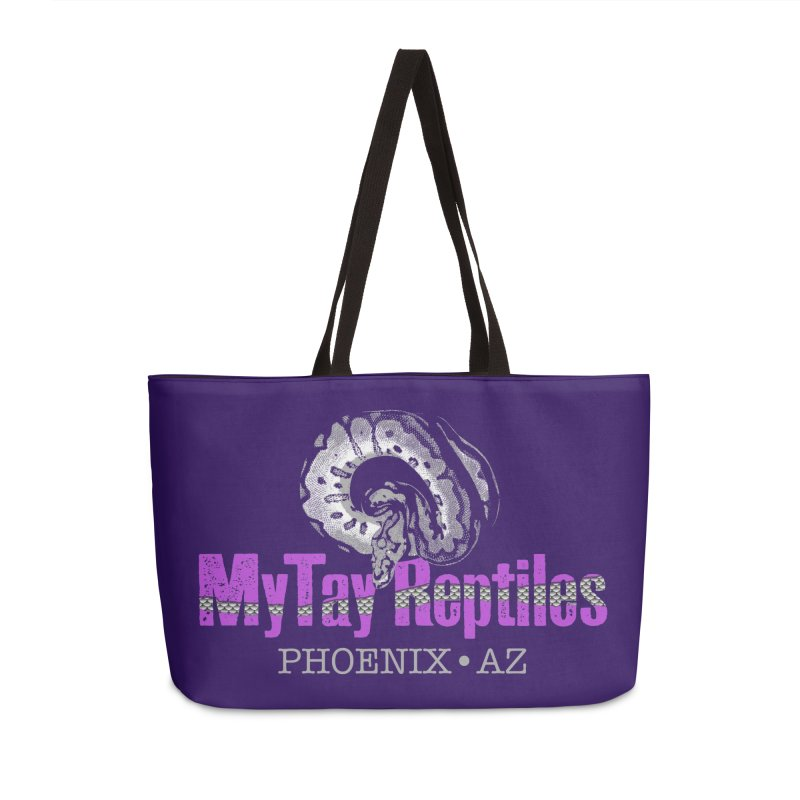 MyTy Reptiles Accessories Weekender Bag Bag by Drawn to Scales