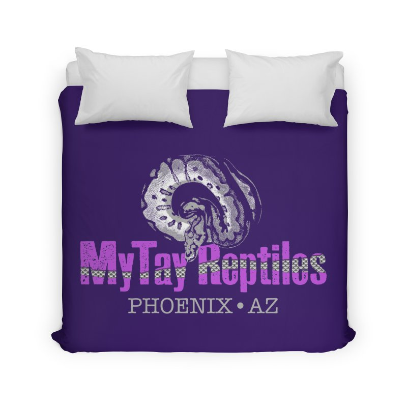 MyTy Reptiles Home Duvet by Drawn to Scales