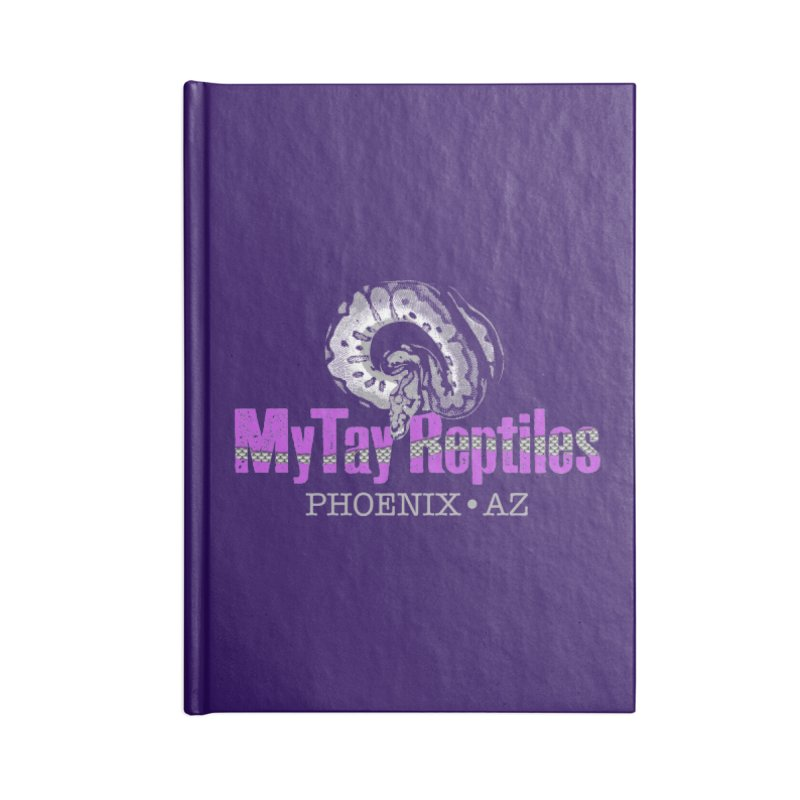 MyTy Reptiles Accessories Lined Journal Notebook by Drawn to Scales