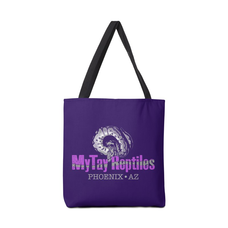 MyTy Reptiles Accessories Tote Bag Bag by Drawn to Scales