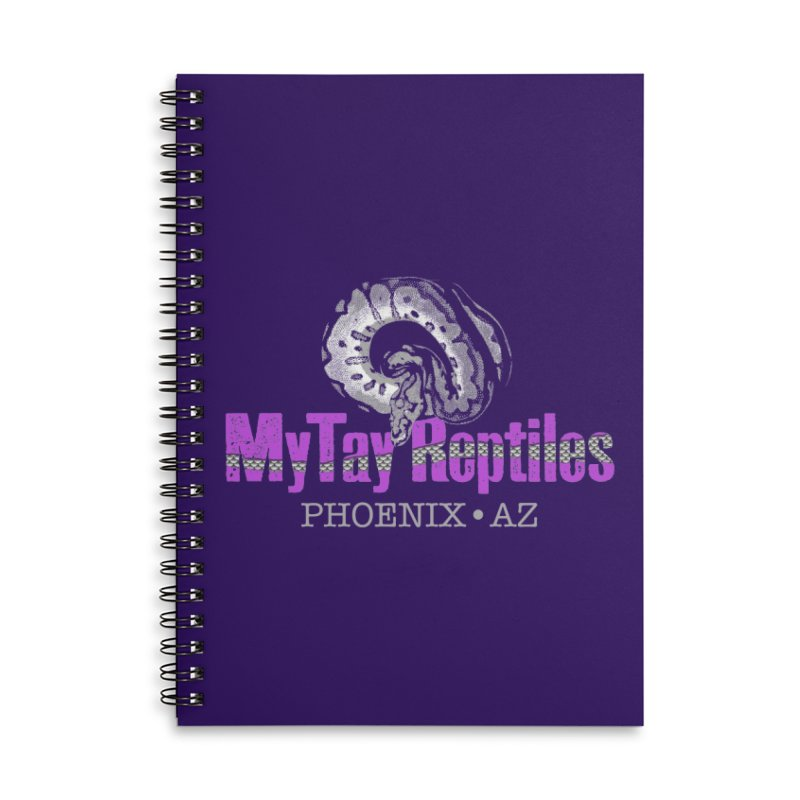 MyTy Reptiles Accessories Lined Spiral Notebook by Drawn to Scales