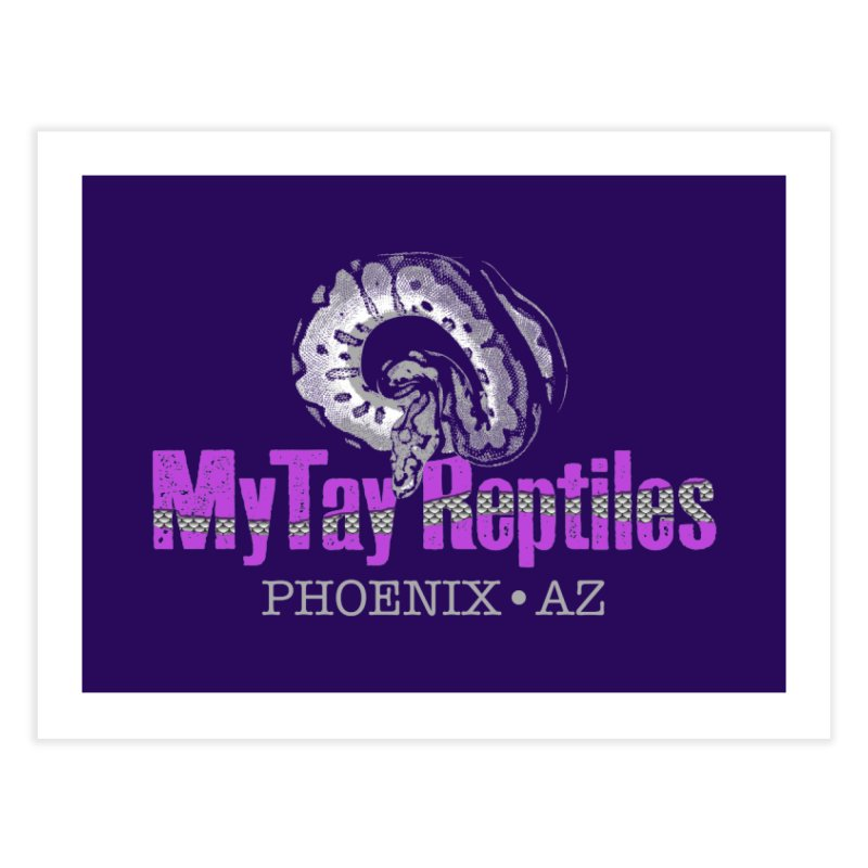 MyTy Reptiles Home Fine Art Print by Drawn to Scales