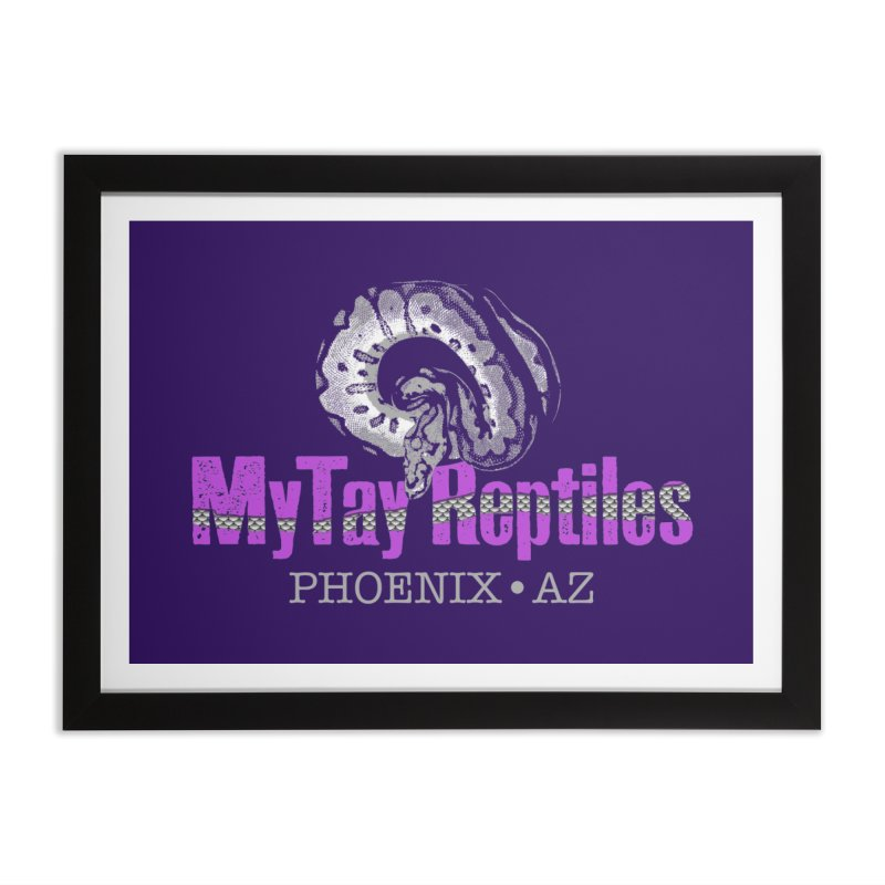 MyTy Reptiles Home Framed Fine Art Print by Drawn to Scales