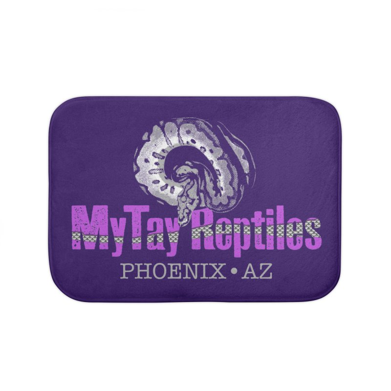 MyTy Reptiles Home Bath Mat by Drawn to Scales
