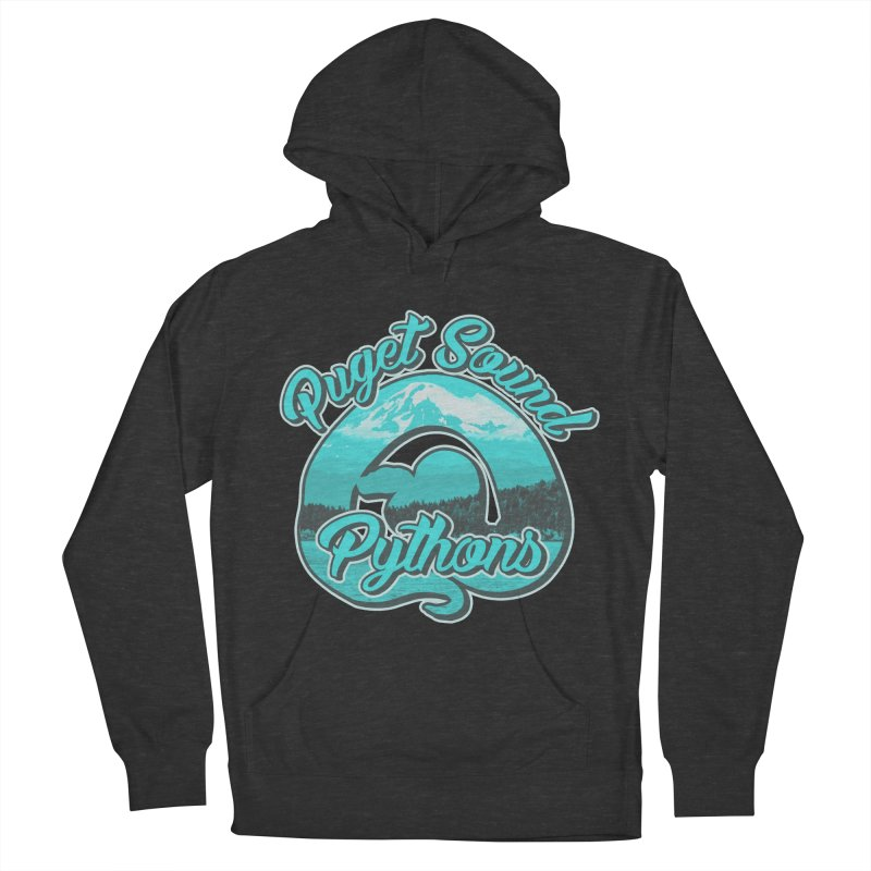 Puget Sound Pythons Women's French Terry Pullover Hoody by Drawn to Scales