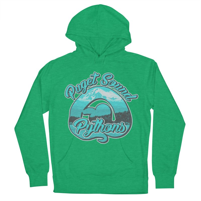 Puget Sound Pythons Men's French Terry Pullover Hoody by Drawn to Scales