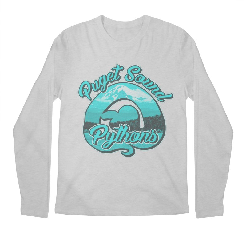 Puget Sound Pythons Men's Regular Longsleeve T-Shirt by Drawn to Scales
