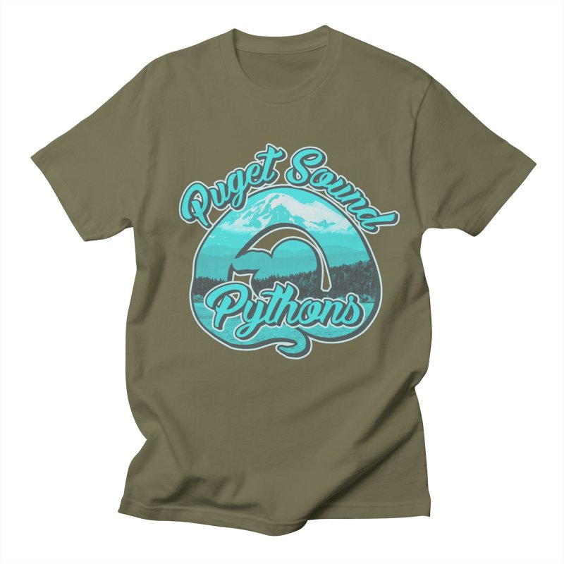 Puget Sound Pythons Women's Regular Unisex T-Shirt by Drawn to Scales