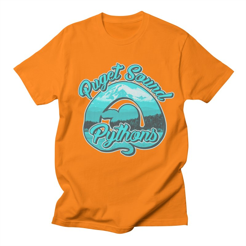 Puget Sound Pythons Men's Regular T-Shirt by Drawn to Scales