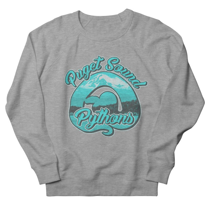 Puget Sound Pythons Women's French Terry Sweatshirt by Drawn to Scales