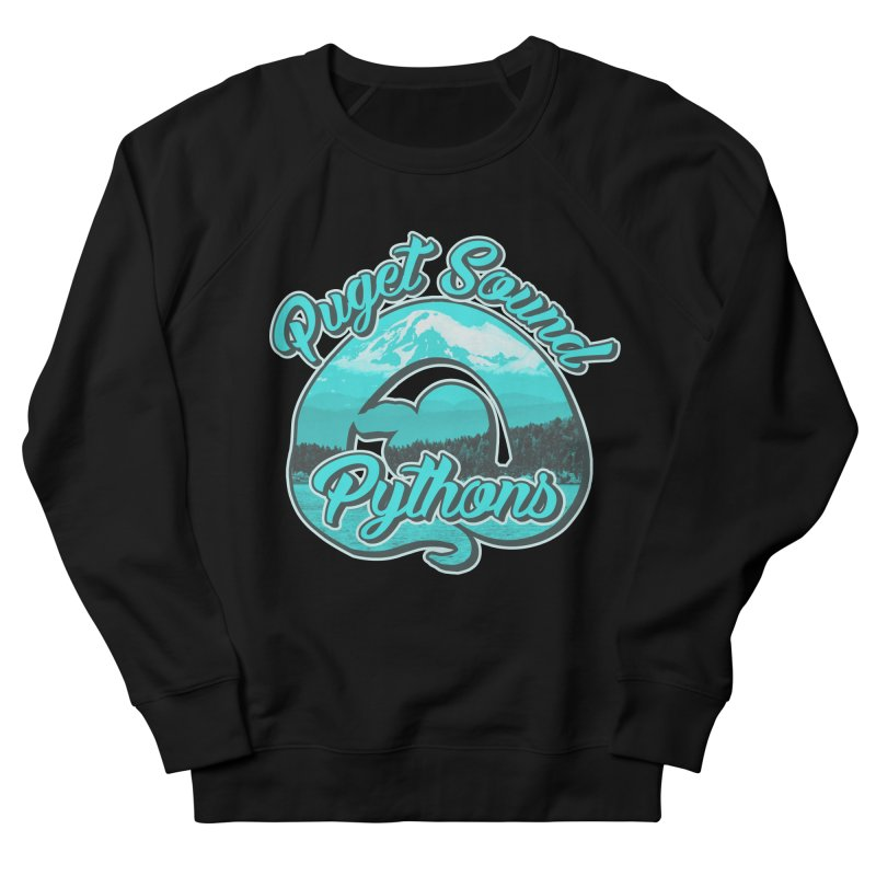 Puget Sound Pythons Men's French Terry Sweatshirt by Drawn to Scales