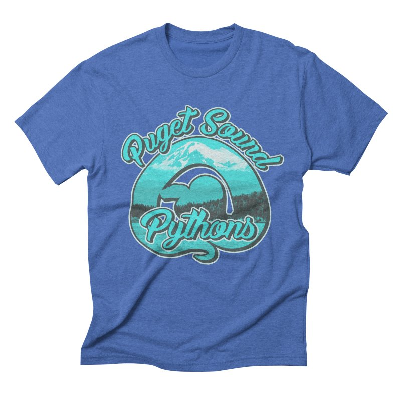 Puget Sound Pythons Men's Triblend T-Shirt by Drawn to Scales
