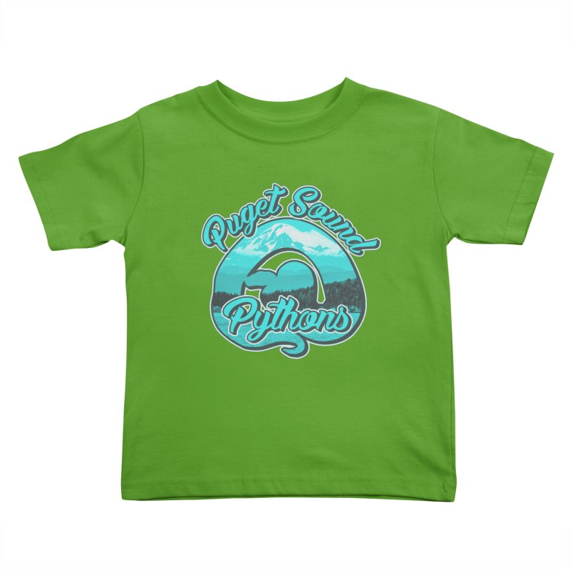 Puget Sound Pythons Kids Toddler T-Shirt by Drawn to Scales