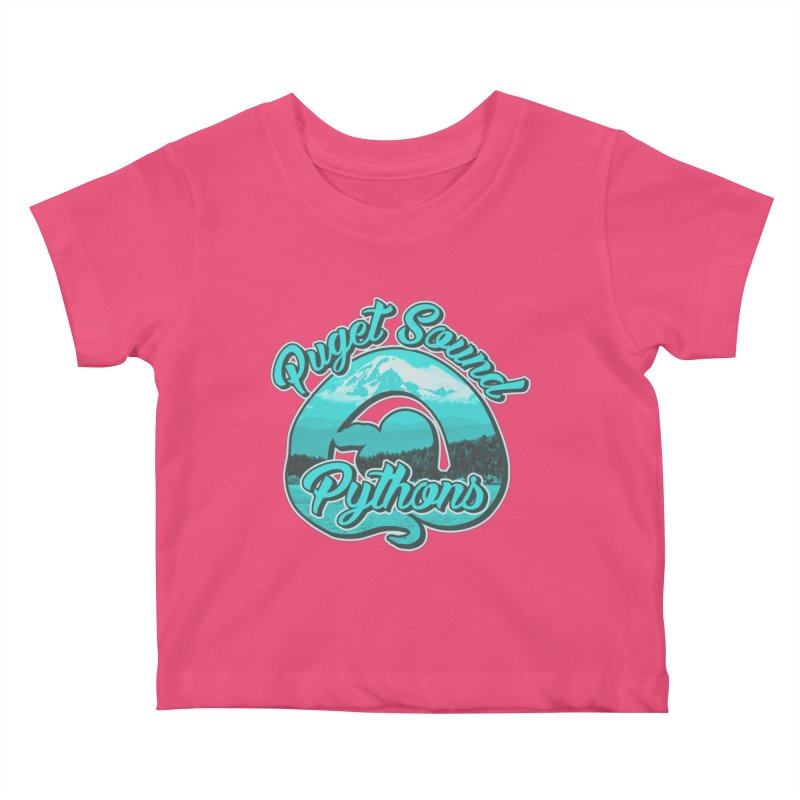 Puget Sound Pythons Kids Baby T-Shirt by Drawn to Scales