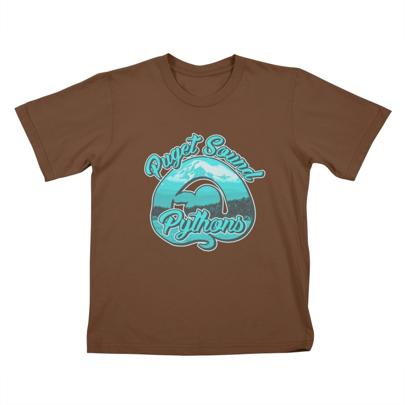 Puget Sound Pythons Kids T-Shirt by Drawn to Scales