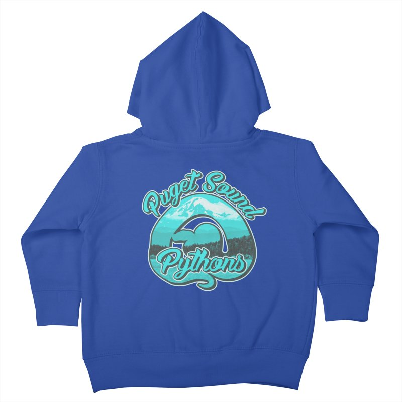 Puget Sound Pythons Kids Toddler Zip-Up Hoody by Drawn to Scales