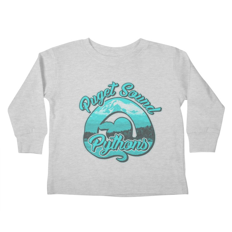 Puget Sound Pythons Kids Toddler Longsleeve T-Shirt by Drawn to Scales