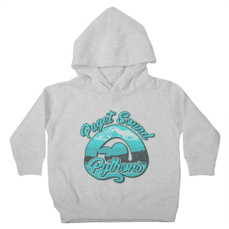 Puget Sound Pythons Kids Toddler Pullover Hoody by Drawn to Scales