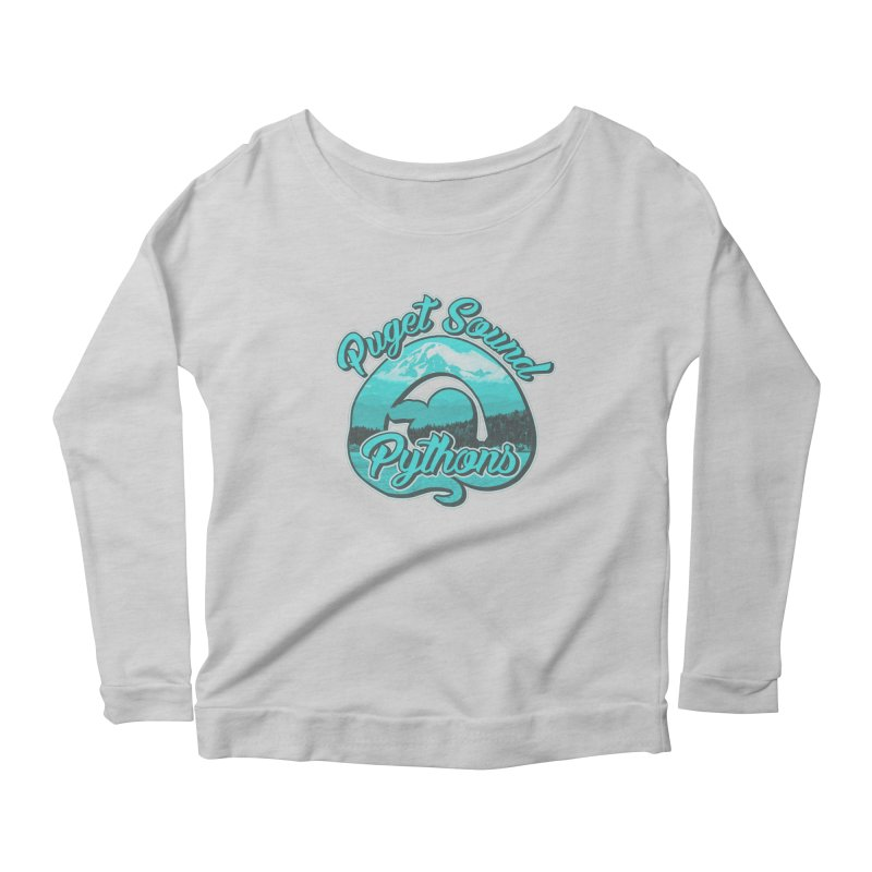 Puget Sound Pythons Women's Scoop Neck Longsleeve T-Shirt by Drawn to Scales
