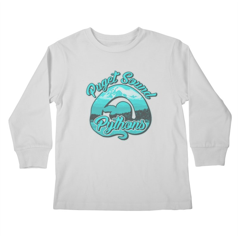 Puget Sound Pythons Kids Longsleeve T-Shirt by Drawn to Scales