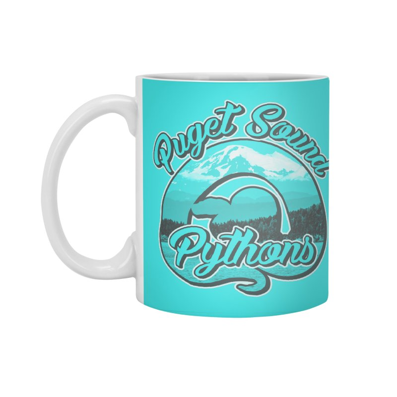Puget Sound Pythons Accessories Standard Mug by Drawn to Scales