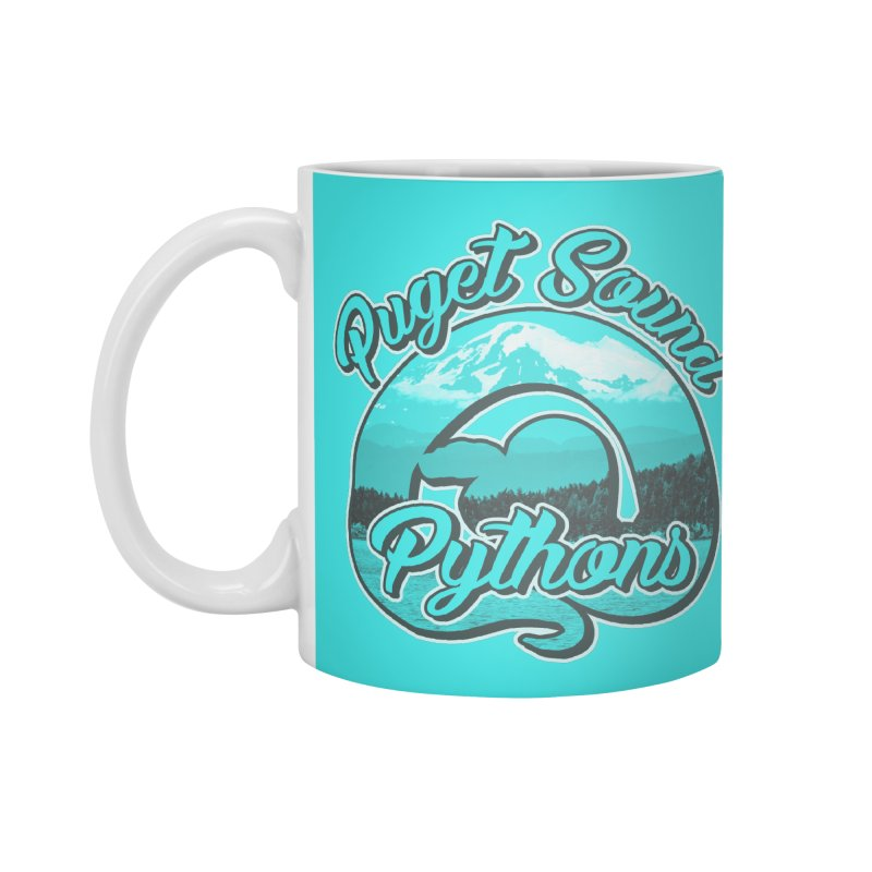 Puget Sound Pythons Accessories Mug by Drawn to Scales