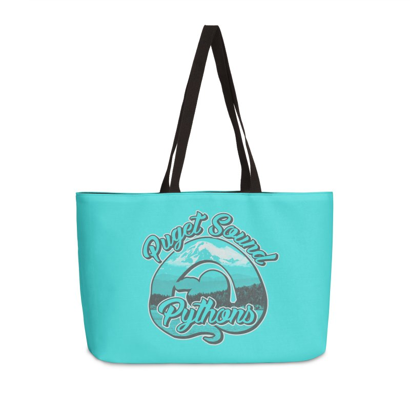 Puget Sound Pythons Accessories Weekender Bag Bag by Drawn to Scales