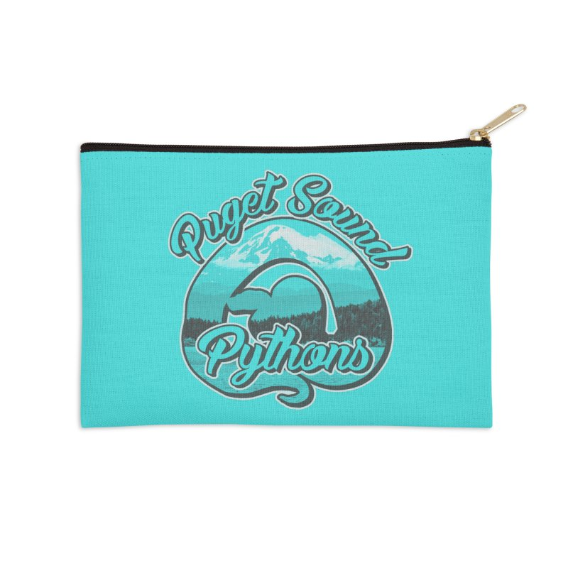 Puget Sound Pythons Accessories Zip Pouch by Drawn to Scales