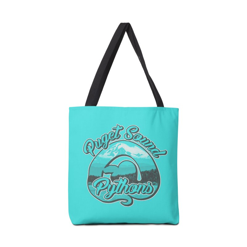Puget Sound Pythons Accessories Tote Bag Bag by Drawn to Scales