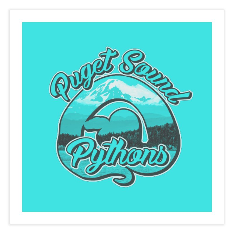 Puget Sound Pythons Home Fine Art Print by Drawn to Scales