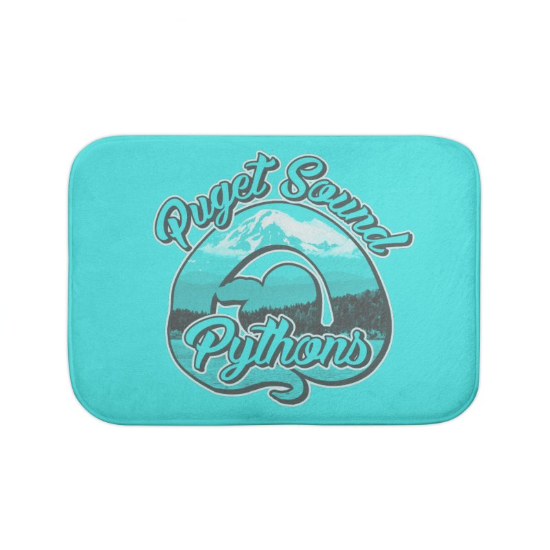 Puget Sound Pythons Home Bath Mat by Drawn to Scales