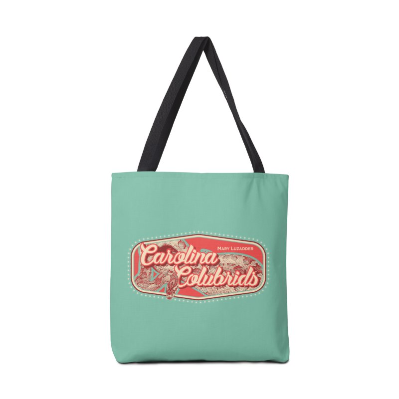 Carolina Colubrids Accessories Tote Bag Bag by Drawn to Scales