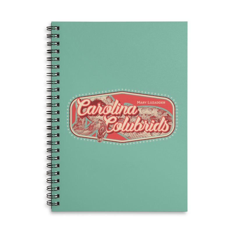 Carolina Colubrids Accessories Lined Spiral Notebook by Drawn to Scales